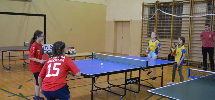 Drużynowe Mistrzostwa Powiatu w tenisie stołowym – Bolewice 2019